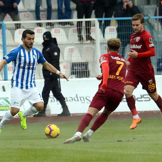 أرضروم وقيصري سبور يتعادلان في الدوري التركي
