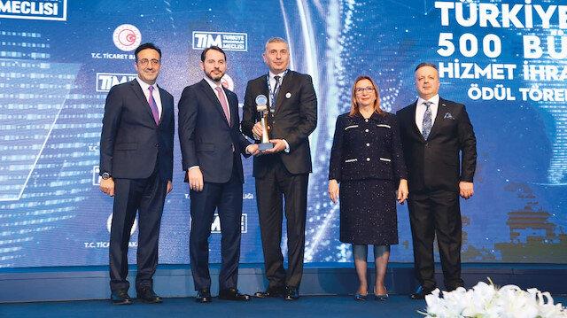 Mercedes'e hizmet ödülü