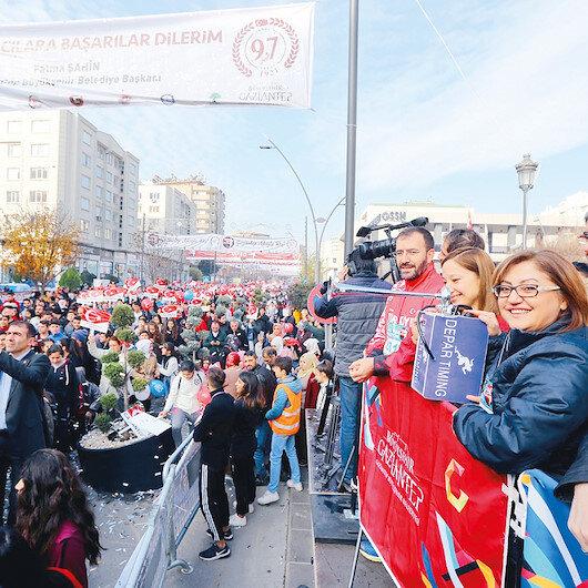 6 ülke Gaziantep aşkıyla koştu