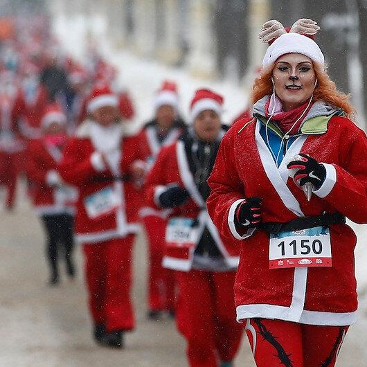 """""""الجري السعيد"""" يُلطّف أجواء موسكو الباردة"""