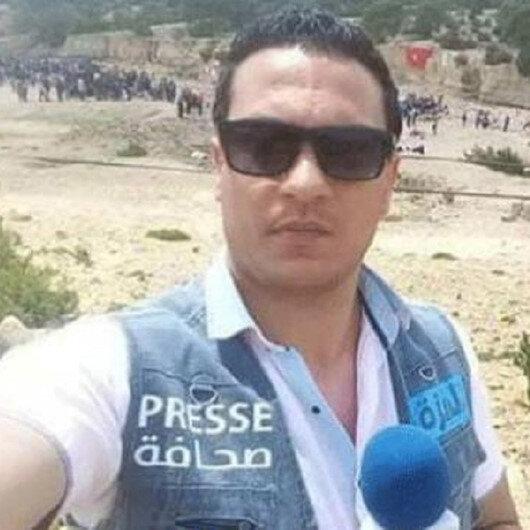 Tunus'ta bir kameraman kendini yaktı: Kendi başıma devrim yapacağım