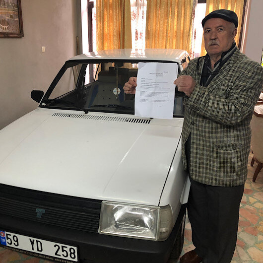 Hiç gitmediği İzmir'den trafik cezası yedi