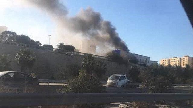 Libya Dışişleri Bakanlığı'na saldırı
