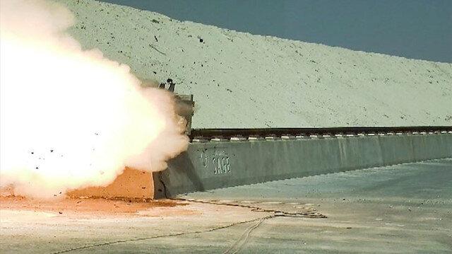 HABRAS'ta nefesler tutuldu, bir tonluk bomba ses hızını aştı.