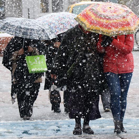 Marmara'da hava sıcaklığı mevsim normallerinin altında