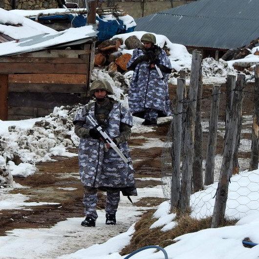 En seçkin birlikler katıldı: Yayla evleri didik didik aranıyor