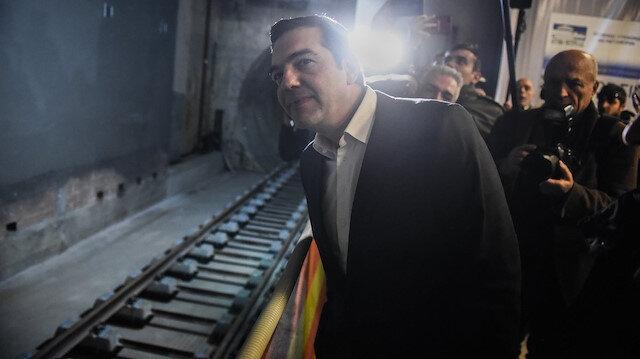 Çipras, Selanik'te treni gelmemiş metro açılışı yaptı