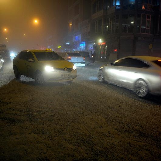 Ardahan'da sis sürücülere zor anlar yaşattı