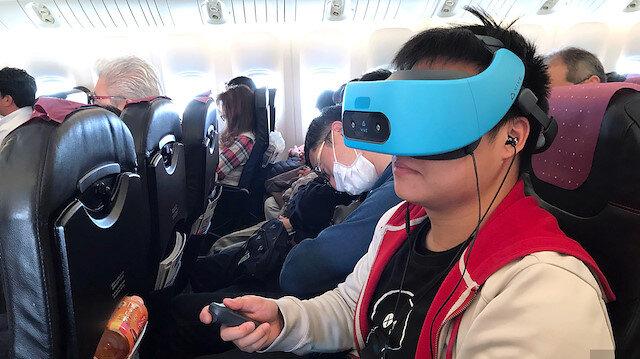 Otobüs ve uçaklara sanal gerçeklik geliyor