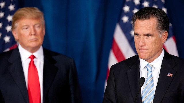 Trump ile Cumhuriyetçi Senatör Romney arasında gerginlik