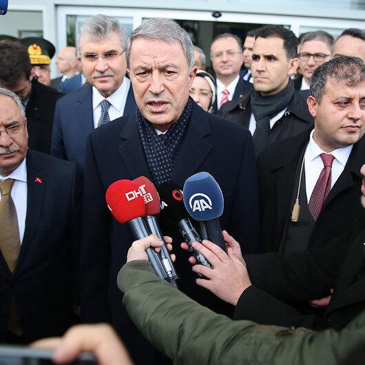 Milli Savunma Bakanı Akar: Terör koridoruna izin vermeyeceğiz