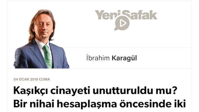 * Kaşıkçı cinayeti unutturuldu mu? * Bir nihai hesaplaşma öncesinde iki Veliaht'ın Türkiye ile savaşı.. * Bizi şah damarımızdan vurmak  isteyenler tarih dışına itilecektir