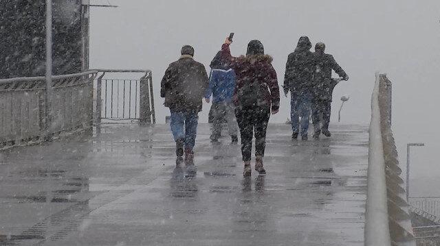İstanbulkar yağışı