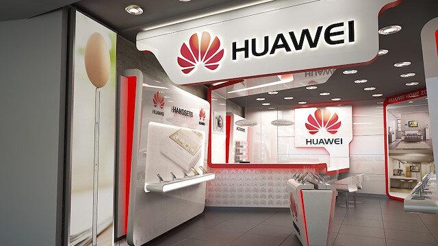 Huawei mağazasın.