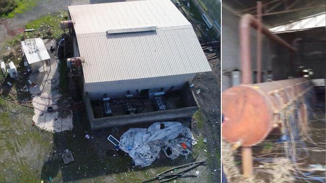 Diyarbakırda 1 milyon liralık kaçak elektriğe dronelu darbe