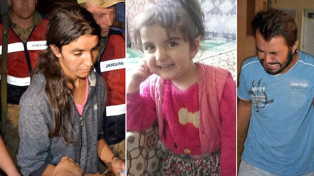 Kayıp Evrim'in annesi Dilek ve babası Burhan Atış gözaltına alınmıştı.