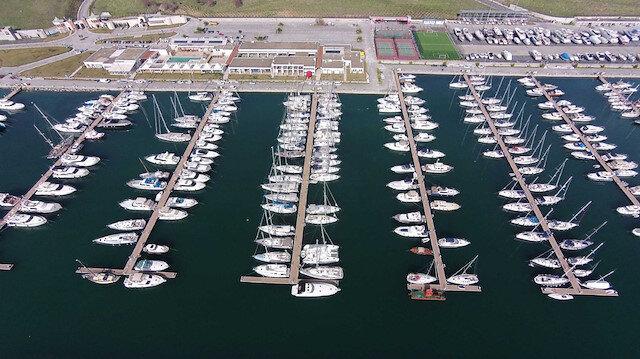 Projenin ihalesi Yeditepe Marina Yatırım Tur. İnşaat'ye devredilmişti.