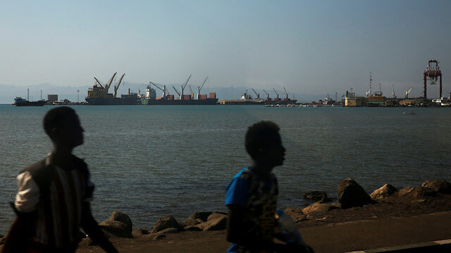 File photo: A general view of the Port of Djibouti is seen in Ambouli, Djibouti April 23, 2017