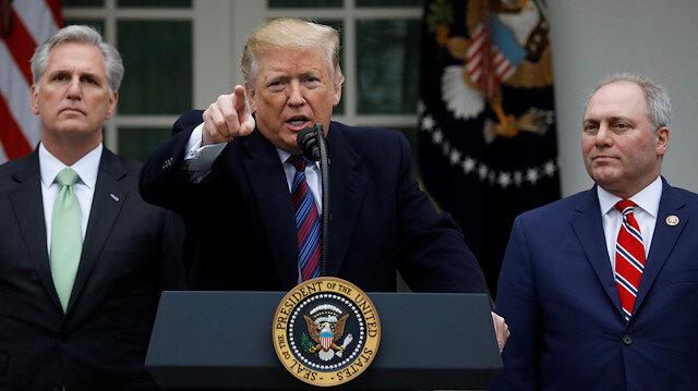Trump: Federal hükümet aylarca kapalı kalabilir