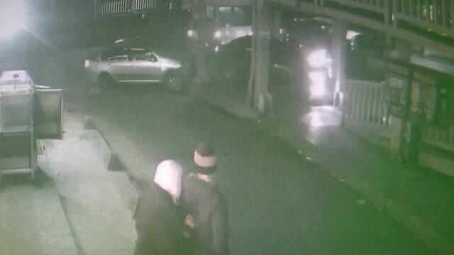 Sürücülerin yol vermeme inadı kazayla sonuçlandı