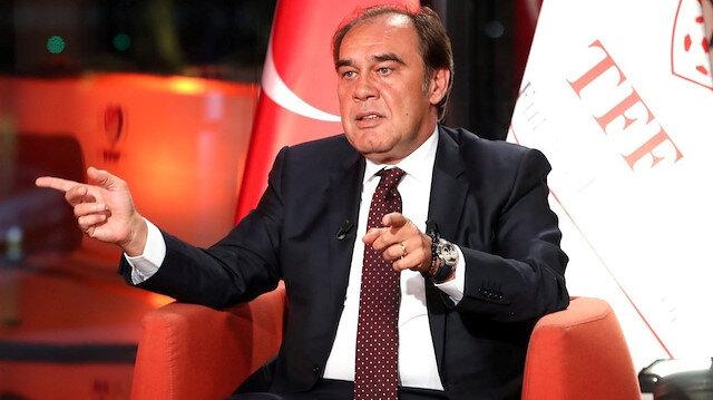 Türkiye Futbol Federasyonu Başkanı Yıldırım Demirören.