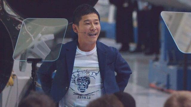 Yusaku Maezawa, internet üzerinden kıyafet satışı yapan Zozotown'ın kurucusu.