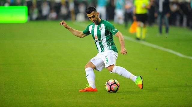 Emre Taşdemir bu sezon Bursaspor'da sadece 7 dakika süre alabildi.