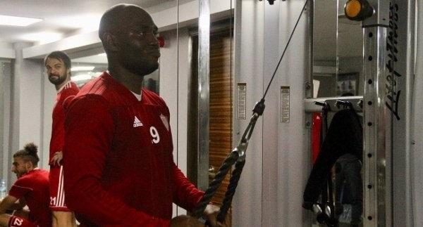 Bienvenu Hatayspor formasıyla hazırlık maçına çıkmıştı.