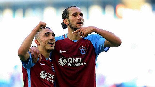 Trabzonspor'un Türk futboluna armağan ettiği iki yetenekli futbolcu Abdülkadir ve Yusuf Yazıcı.