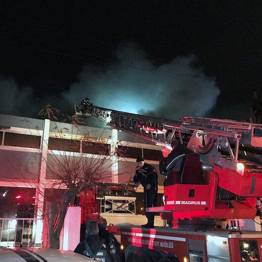 İzmir'deki fabrika yangını söndürüldü