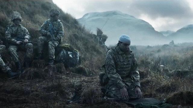 İngiltereden Müslüman askerler için reklam filmi