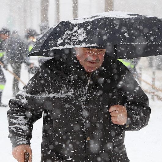 İç Anadolu'da 7 ile kar yağışı uyarısı