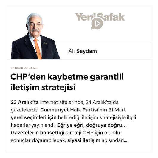 CHP'den kaybetme garantili iletişim stratejisi
