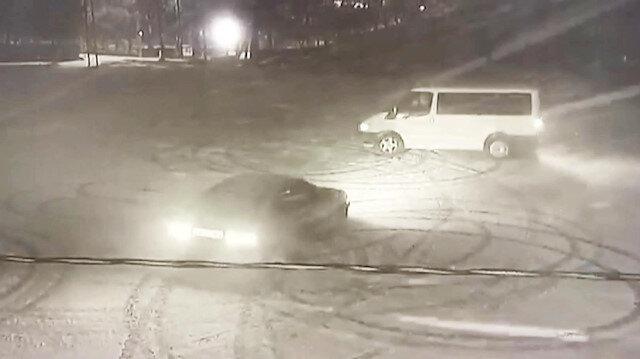 Karda karşılıklı driftin cezası ağır oldu