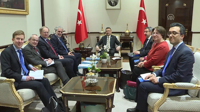 Turkish VP receives European Commissioner of humanitarian aid