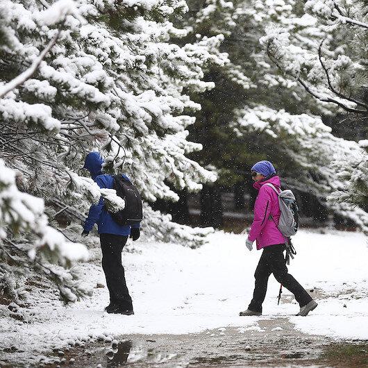 Kırşehir'de eğitime kar engeli