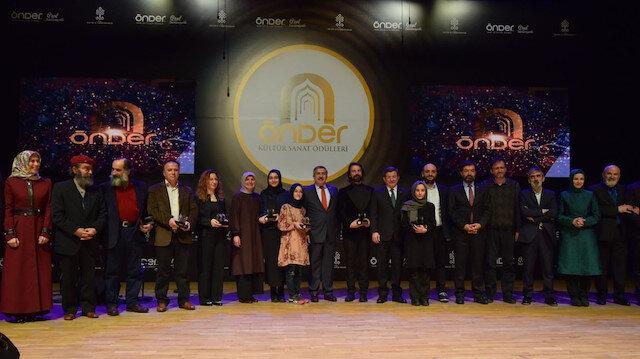 ÖNDER 3. Kültür Sanat Ödülleri bugün verilecek