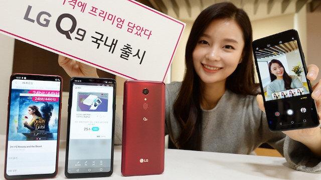 LG 2019'un ilk telefonu tanıttı.