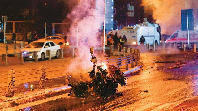 11 Aralık 2017 İstanbul Vodafone Arena saldırısı