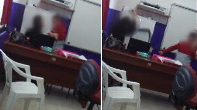 Otizmli öğrenciye sınıfta öğretmen şiddeti!
