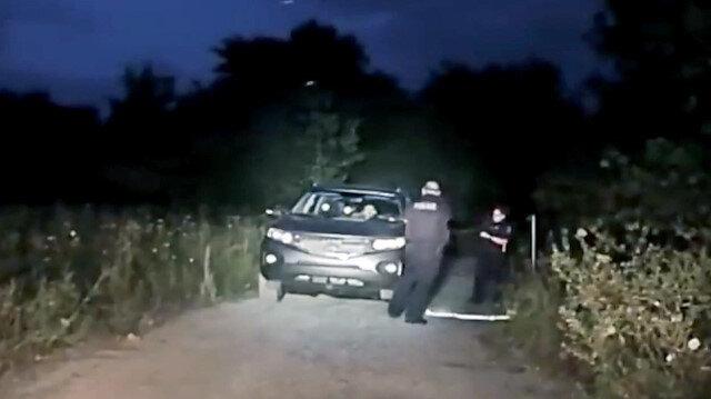Meslektaşına silah çeken şüpheliyi polis böyle vurdu