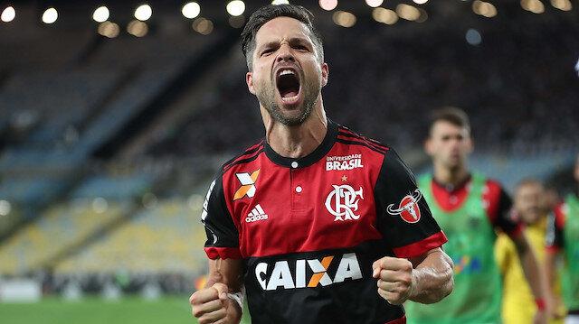 Diego Ribas, Brezilya ekibi Flamengo'da kupa kazanma başarısı gösteremedi.