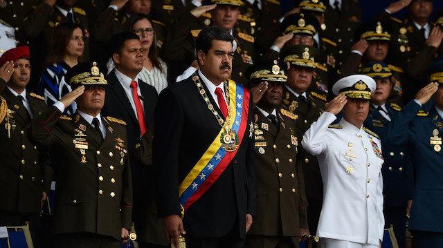 Venezuela ordusundan Maduro'ya sadakat sözü