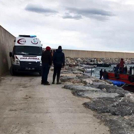 Sinop'ta balıkçı teknesi battı: 1 kişi öldü