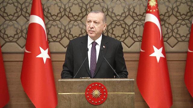 Erdoğan: Sanat ve edebiyat felç olmuşsa, ortak değerlerin yaşatılması zordur