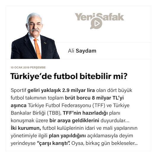 Türkiye'de futbol bitebilir mi?