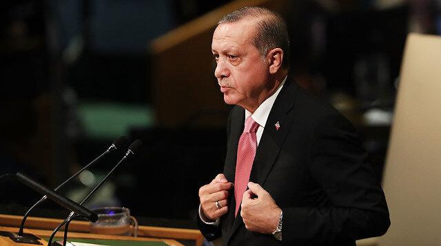 Cumhurbaşkanı Recep Tayyip Erdoğan'ın BM Genel Kurulu'ndaki konuşması.