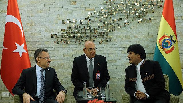 الاتفاق على افتتاح سفارة بوليفيا في تركيا 2019
