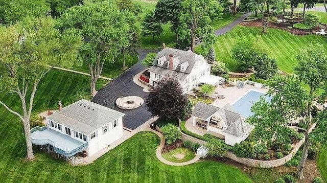 Muhammed Ali'nin Michigan'daki evi.