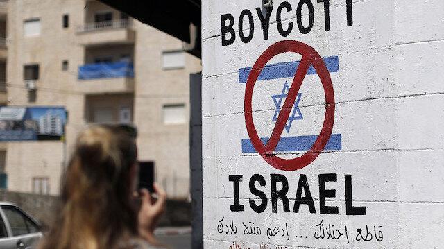 İsrail, uluslararası insan hakları ihlali nedeniyle boykot edliyor. (Fotoğraf: AFP)